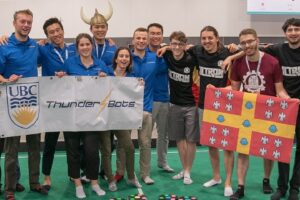 UBC Thunderbots: Help us defend first place with new robots!